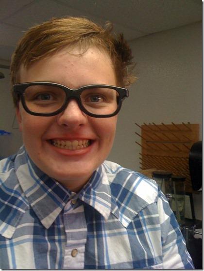matthew as a nerd